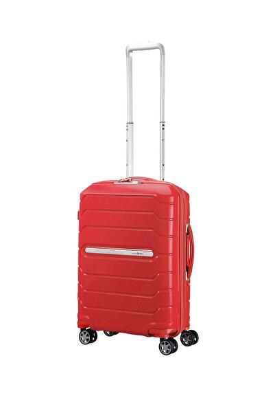 Samsonite Kırmızı Unisex Flux - Spinner 55 Cm Kabin Boy Valiz 32997