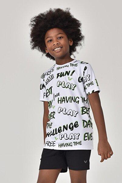 bilcee A.Yeşil Unisex Çocuk T-Shirt GS-8182
