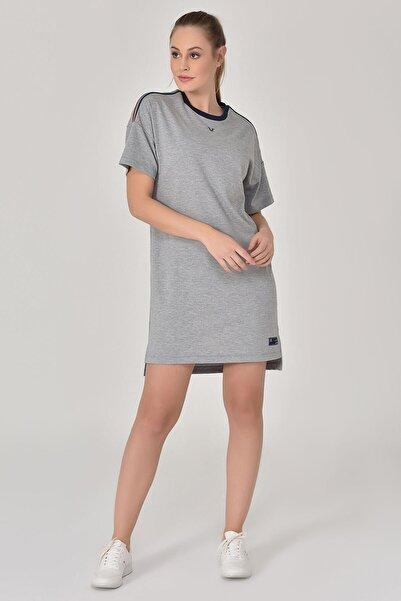 bilcee Gri Kadın Elbise GS-8077