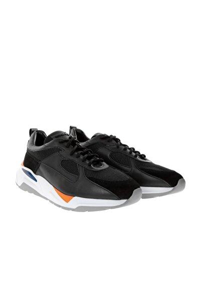 Male Industry Erkek Spor Ayakkabı 2891-32 Fw Siyah Soft -Siyah Süet