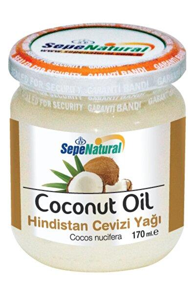 Sepe Natural Hindistan Cevizi Yağı 170 Ml Soğuk Sıkım Coconut Oil