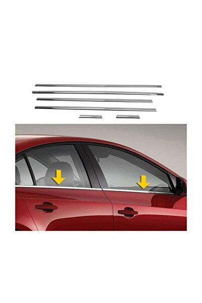 Başkent Oto Dizayn Volkswagen Jetta Krom Cam Çıtası 6 Parça 2011 Üzeri Paslanmaz Çel