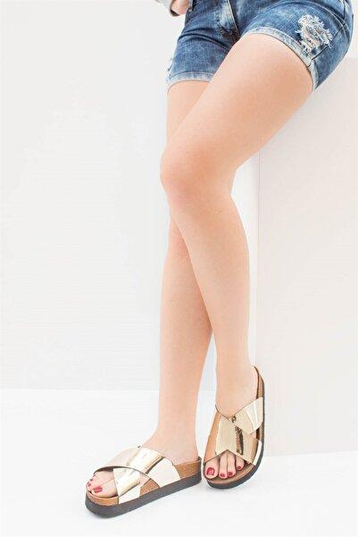 Fox Shoes Kadın Dore Terlik B777742234