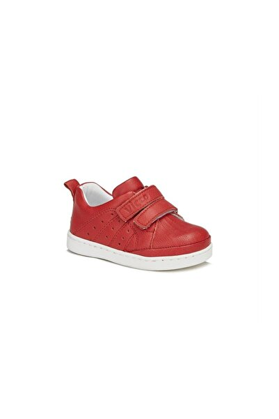 Vicco Ilk Adım Deri Ayakkabı Kırmızı