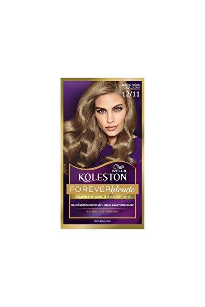 Koleston Kit Saç Boyası  12 11 Ekstra Yoğun Küllü Sarı