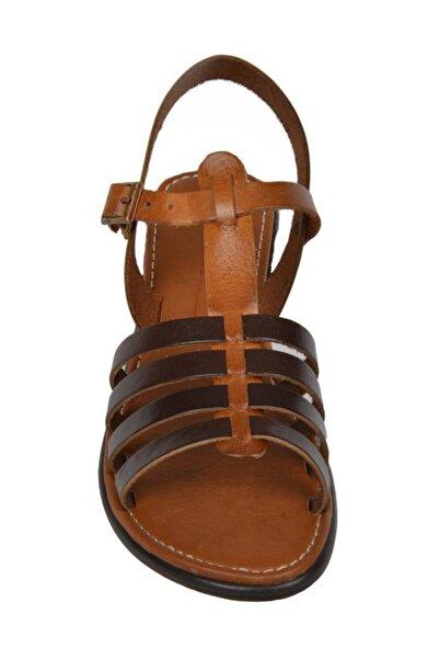 MP 181-6752 Zn Kemerli Yazlık Günlük Kadın Sandalet Ayakkabı