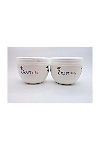 Dove Silky Nourishing Body Cream 300ml X2