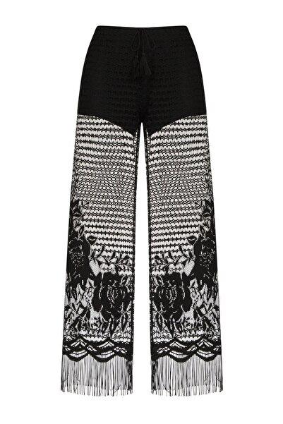 Penti Kadın Siyah Lace Pantolon