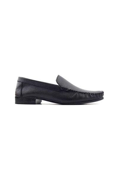 Kayra Catchers 2021 Hakiki Deri Erkek Ayakkabı-Siyah