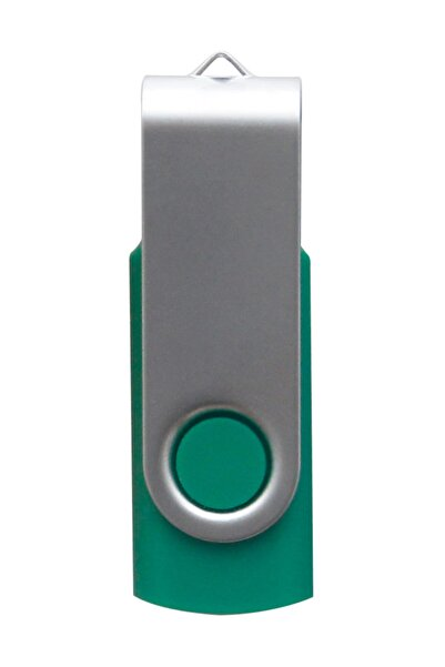 iForce Swıwel Döner Metal Usb Bellek - 8 Gb - Yeşil