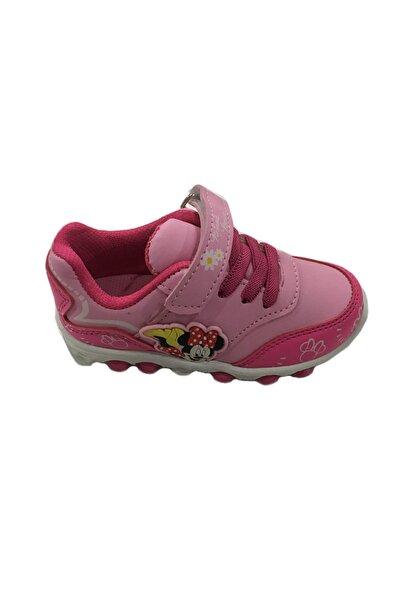 Disney Mickey Mouse Mıckey Mouse Kız Çocuk Lisanslı Işıklı Spor Ayakkabı, 21-25 Numara
