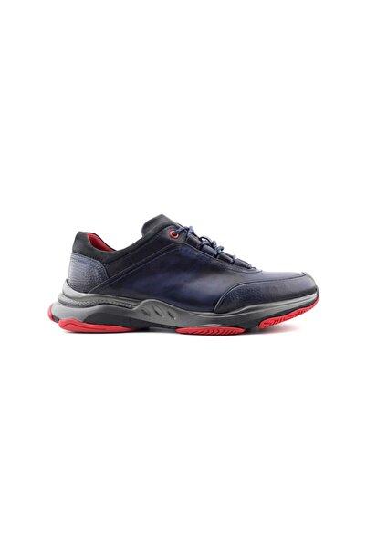 Zirve 13550 Deri Erkek Ayakkabı-lacivert