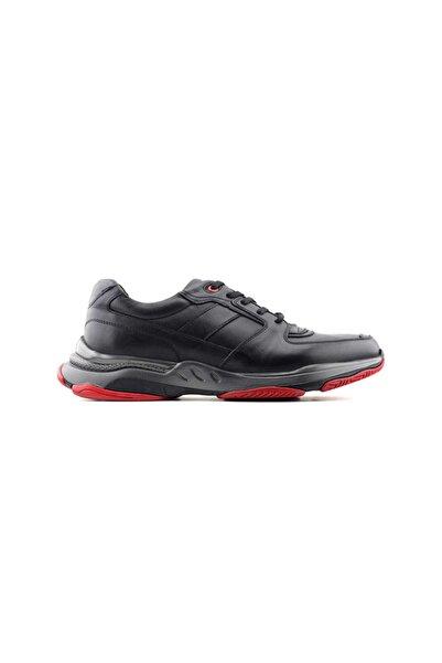Zirve 13551 Hakiki Deri Erkek Ayakkabı-siyah