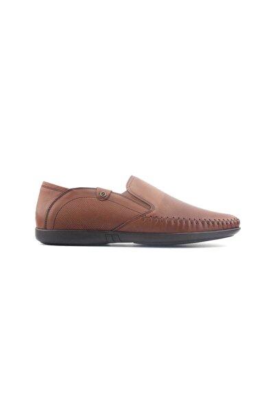 Zirve 270010 Hakiki Erkek Ayakkabı-taba Analin