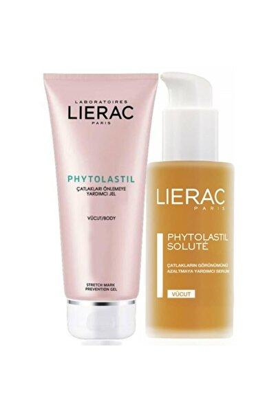 Lierac Phytolastil Çatlaklar Için Jel 200 ml + Solute 75 ml Lie933