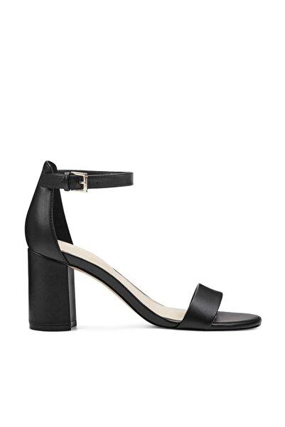 Nine West Sandy3 Siyah Kadın Topuklu Ayakkabı