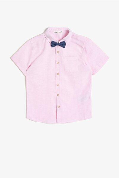 Koton Kids Somon Erkek Çocuk Gömlek