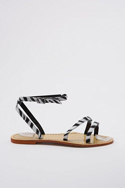 TRENDYOLMİLLA Siyah Kadın Sandalet TAKSS20SD0055