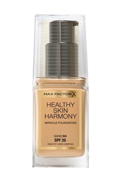 Max Factor Fondöten - Healthy Skin Harmony Miracle Foundation No: 60Sand 8005610433363