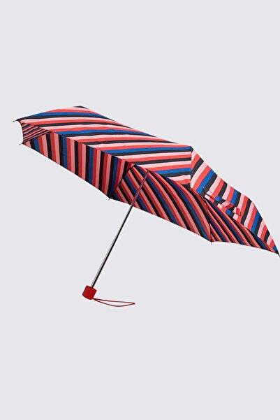 Marks & Spencer Kadın Pembe Çizgili Şemsiye T01000635U