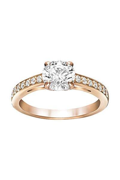 Swarovski Kadın Yüzük Attract:Ring Czwh/Ros 52 5184212