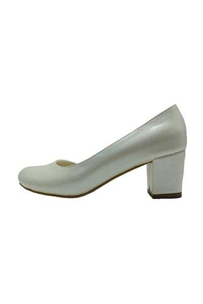 Almera Topuklu Kadın Ayakkabı - Sedef - 301