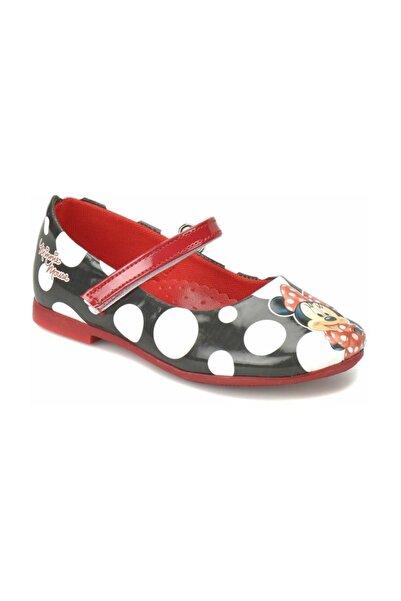 Minnie Mouse Mickey Mouse 90605T Siyah Kız Çocuk Babet 100289809