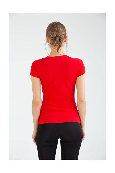 Kadın T-shirt Vf-0028 Mro Supported