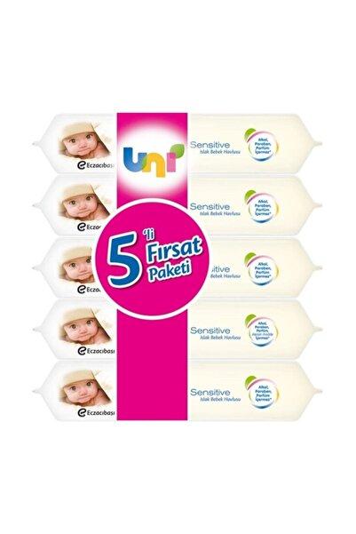 Uni Baby Sensitive Islak Havlu 56'lı x 5'li Paket