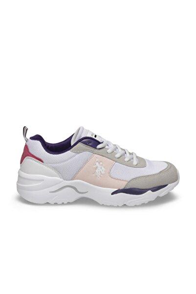 Tony Beyaz Kadın Sneaker Ayakkabı