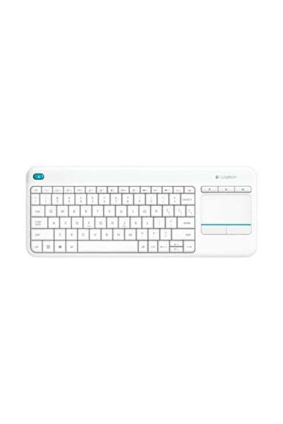 logitech Wireless Touch K400 Plus Beyaz Klavye (920-007150)