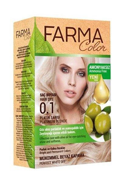 Farmasi Farmacolor Saç Boyası 0.1 Platin Sarısı 8690131113124