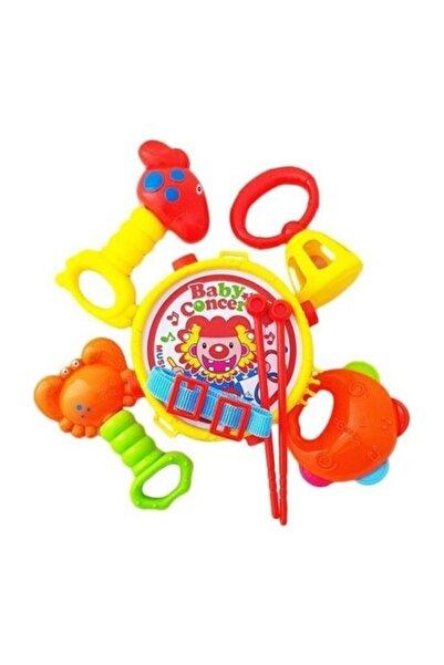 Canda Oyuncak Bebek Davul Ve Çıngırak Set