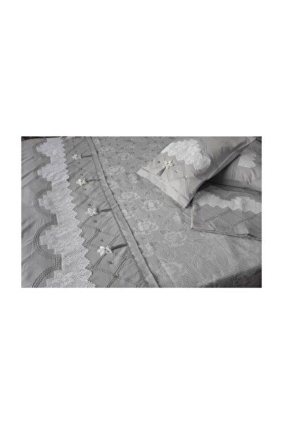 Koton Bursa Çeyiz Ağır Model El Işi Dantelli Pike Takımı*106,