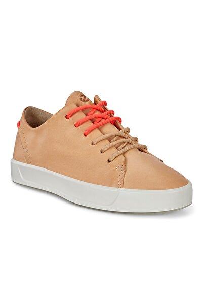 Ecco Kadın Sneaker Soft 8 W Natural Nude M1 Bej 470573