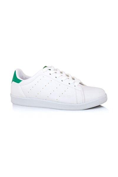 LIG 18-01-80 Yeşil - Beyaz Spor Ayakkabısı