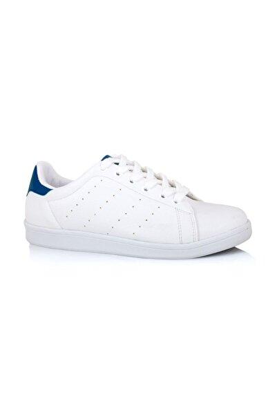 LIG 18-01-80 Lacivert - Beyaz Spor Ayakkabısı