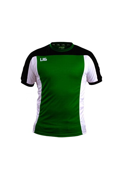 LIG Termera Antreman T-shirt Yeşil-siyah-beyaz