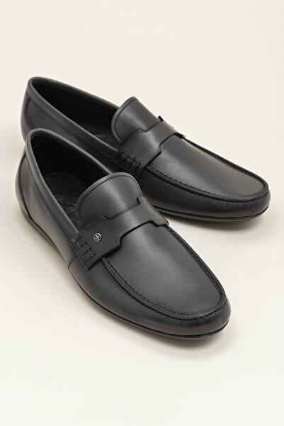 Elle Shoes HAWK Hakiki Deri Gri Erkek Casual Ayakkabı