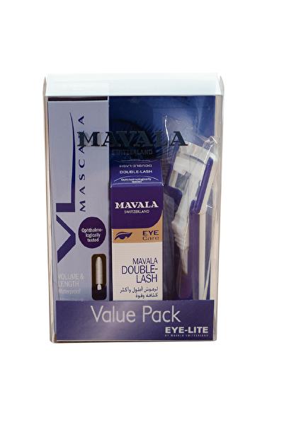 Mavala Double-Lash Uzun Kirpikler 10 ml Volume Maskara Set 7618900330320