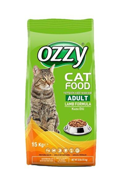 Ozzy Kuzu Etli Pirinçli Yetişkin Kedi Maması 15 Kg