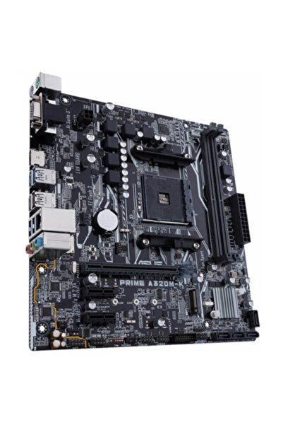 ASUS PRIME A320M-K Amd A320 AM4 Soket 3200MHz O.C. DDR4 USB 3.1 HDMI Anakart