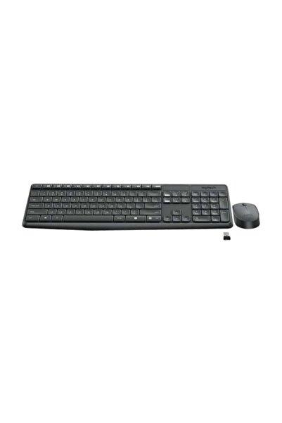 logitech Mk235 Siyah Kablosuz Set 920-007925