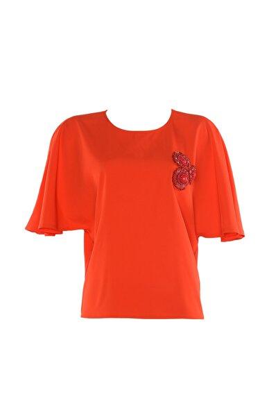 Twist Kadın Kırmızı Bluz TS119000615501