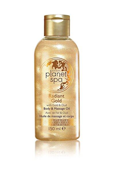 AVON Planet Spa Radiant Gold Vücut ve Masaj Yağı 150 ml 5050136416379