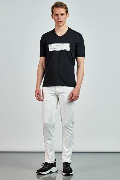Giovane Gentile Erkek Siyah Giovane G. Designers T-Shirt GC0660202122