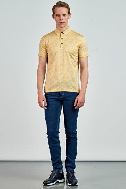 Giovane Gentile Erkek Sarı T-Shirt LB0659201988