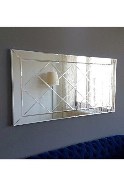 Vivense Neostill-Dekoratif Baklava Desenli Duvar Salon Ayna  A306-Y
