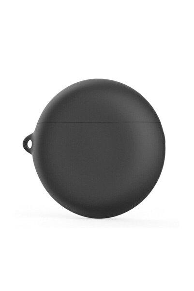 Microsonic Huawei Freebuds 3 Mat Silikon Kılıf Siyah