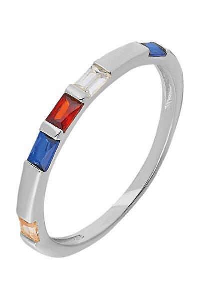 Chavin Gümüş Taşlı Kadın Yüzük Mini Eklem Yüzüğü ed85by
